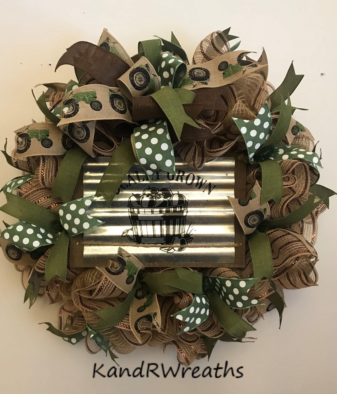 Photo of 56 peasant wreath. Peasant wreath. Summer wreath. Front door wreath.