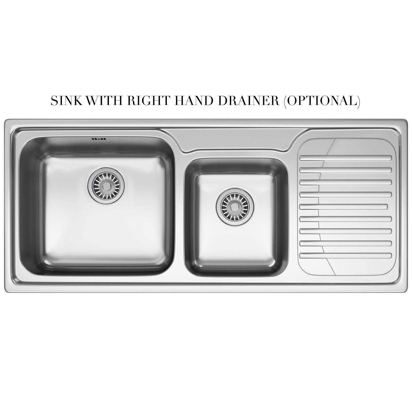 Franke Galassia Gax 621 1 5 Bowl Stainless Steel Inset Sink 1010068483 Bom Franke Kitchen Sinks Franke Sink Inset Sink