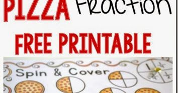 FREE Pizza Fraction Game - Kids will love learning about fractions with this fun printable Pizza Fraction Game for 2nd-5th graders.