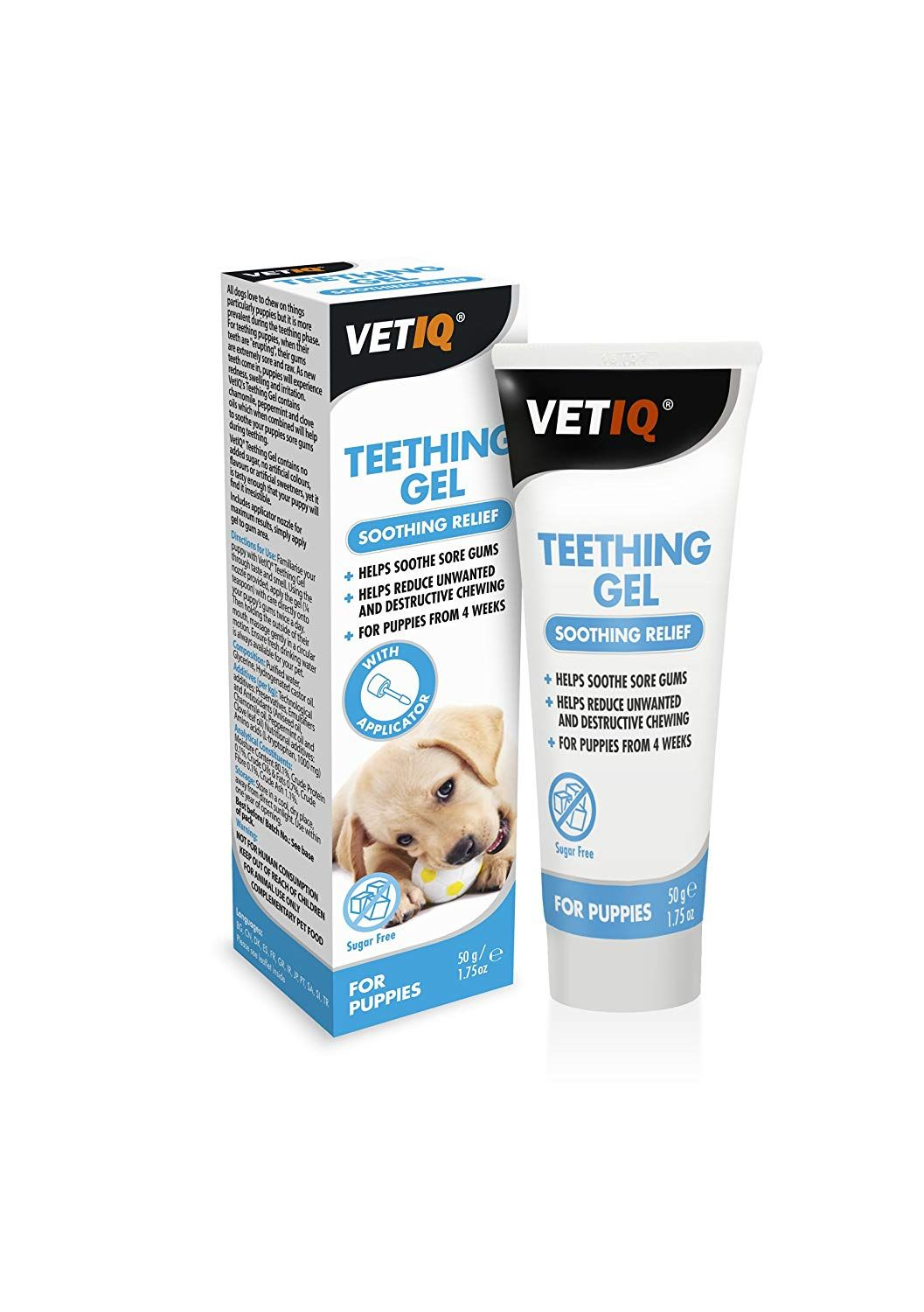 Mark and chappell teething gel for puppies 175fluid