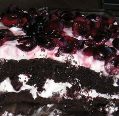 Sugar Free Black Forest Cake Recipe (NOT hypoglycemic diet!)