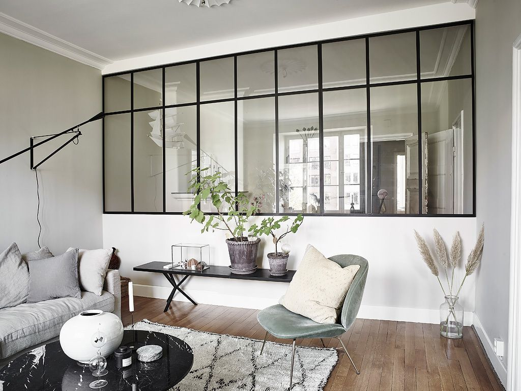 Home interior design windows a lovely modern scandinavian space  residential interiors