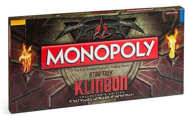 ThinkGeek :: Klingon Monopoly