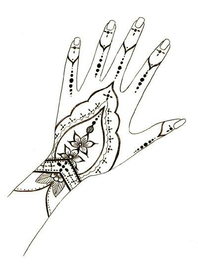 Clip Art Galore Henna Hand Design Clip Art Galore Henna