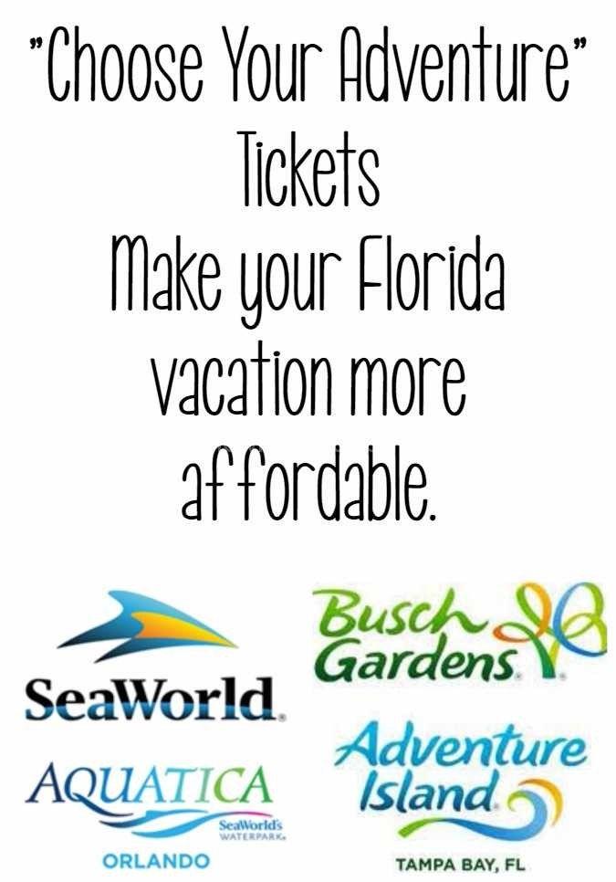 Choose Your Adventure SeaWorld, Busch Gardens, Aquatica, Adventure Island |  Travel| Florida