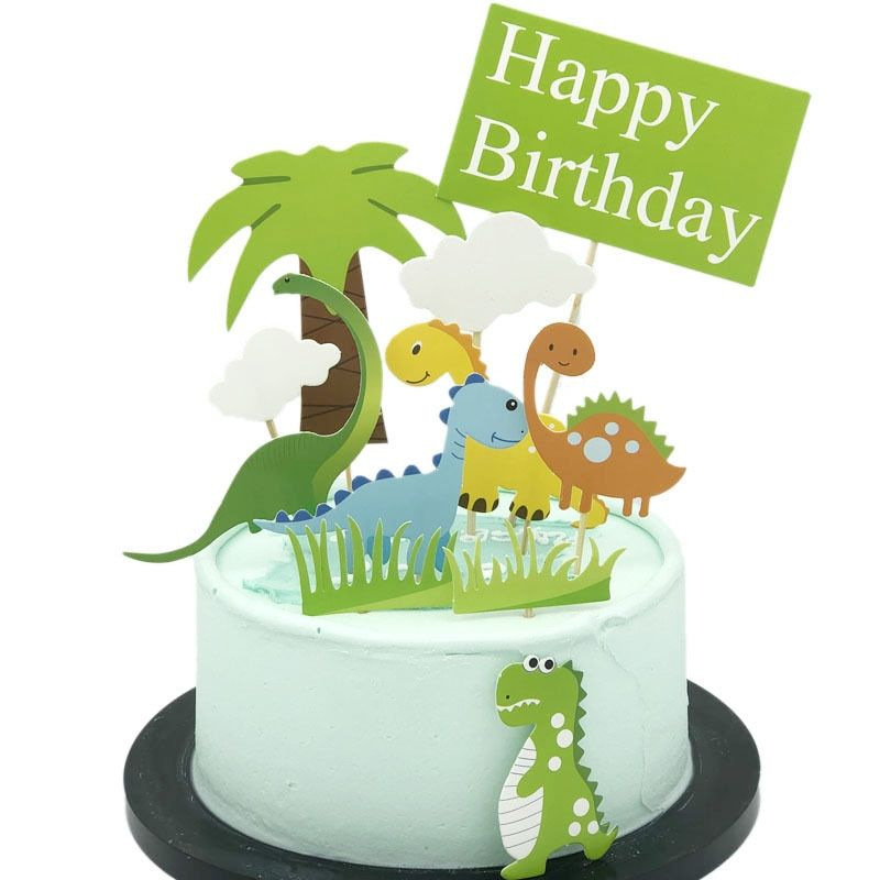 Cheap Cake Decorating Supplies Buy Directly From China Suppliers Cakelove Cute Dinosaur Dinosaur Cake Toppers Birthday Cake Toppers Happy Birthday Cake Topper
