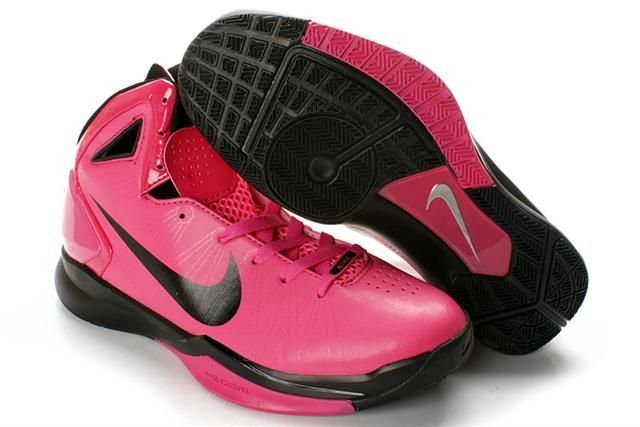 Nike Hyperdunk 2010 Vivid Pink Black Highlighter Pack