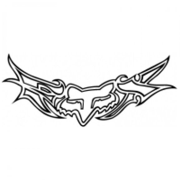 logo of fox racing  this would be a cute lower back tattoo