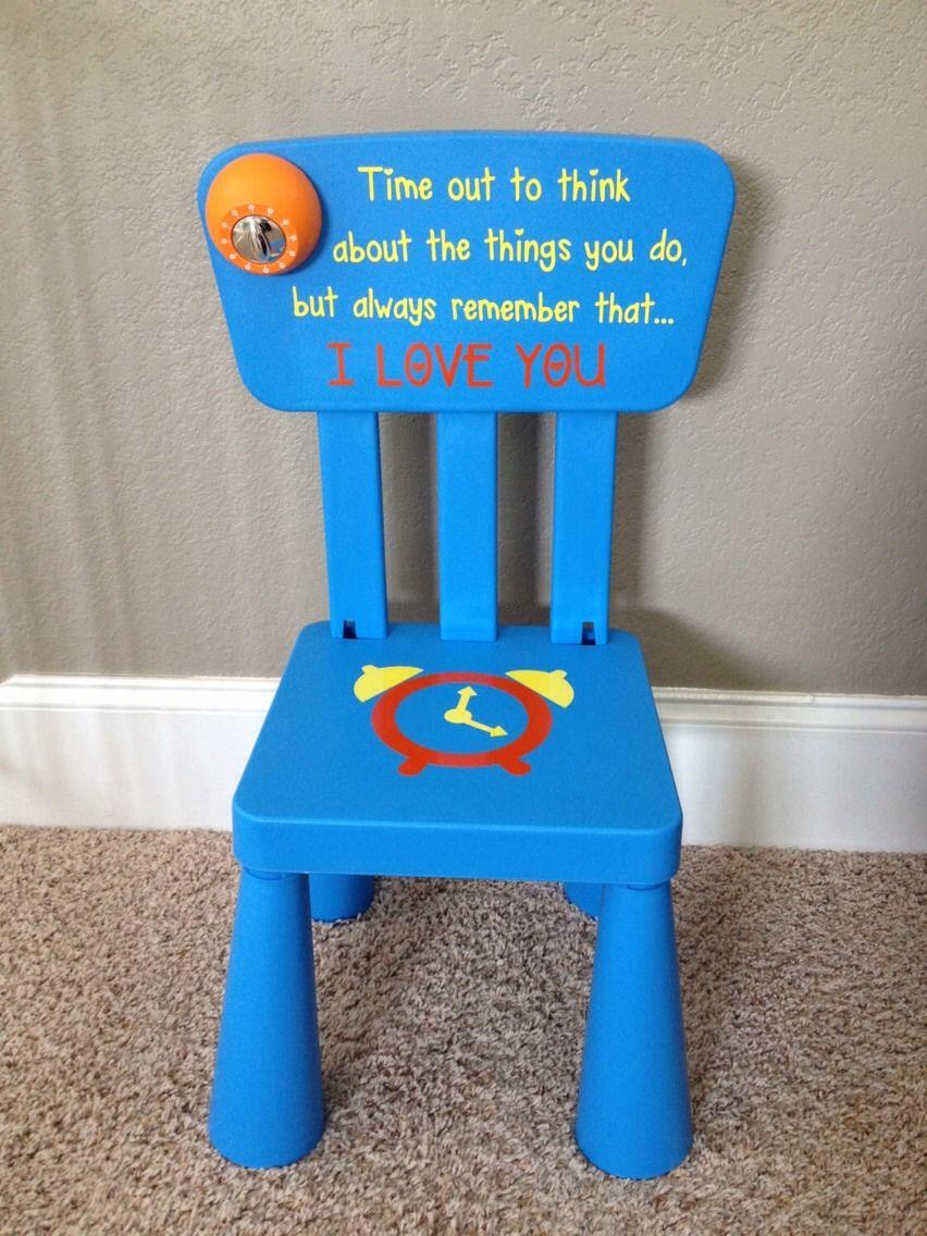 Diy Time Out Chair Knutselideeen Doe Het Zelf En Timeout