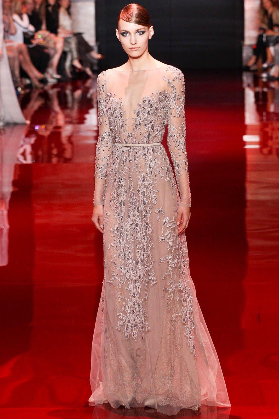 elie saab couture fall 2013 | visual optimism; fashion editorials ...