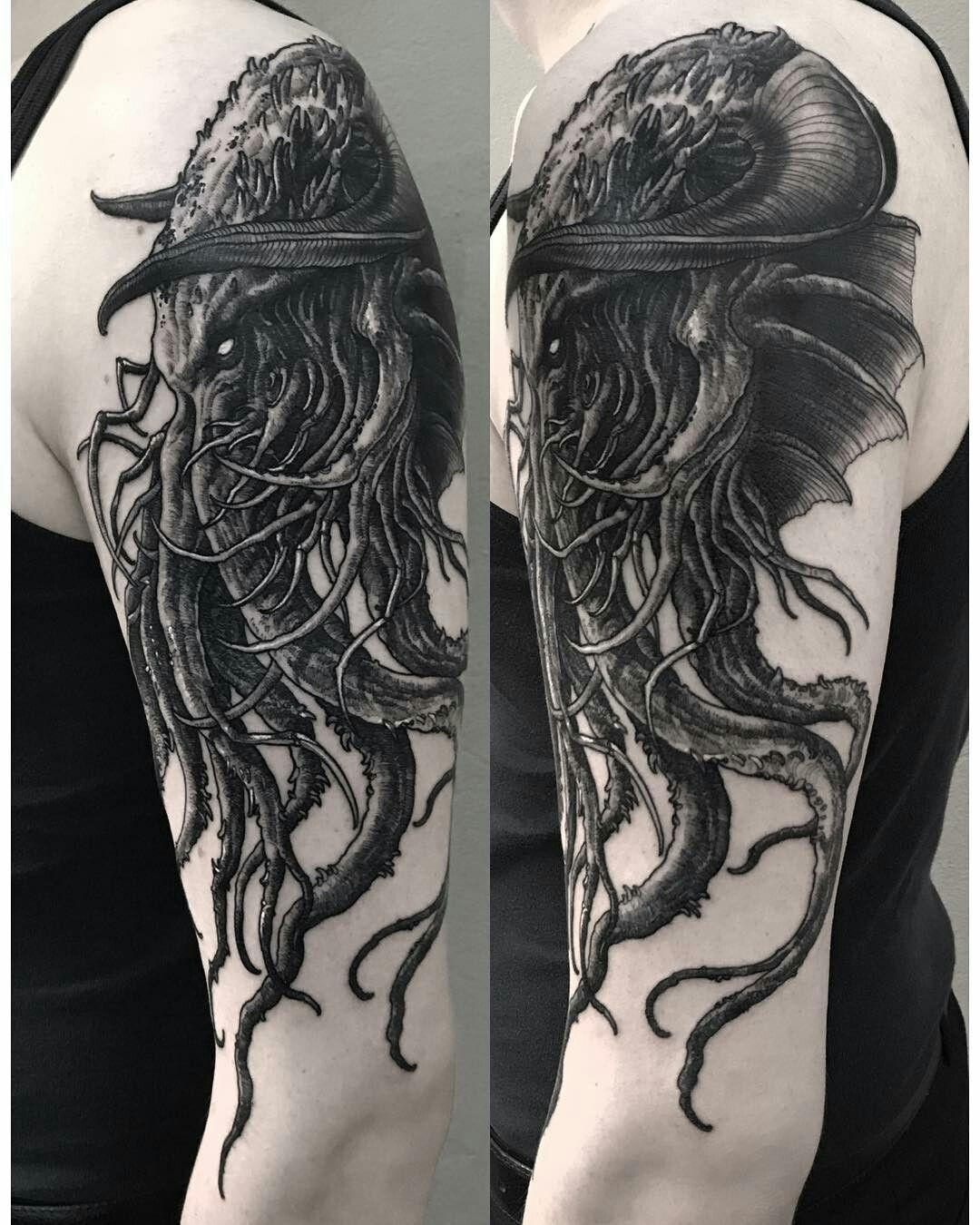 Pin by Kachaktano on Things I like | Tattoos, Cthulhu tattoo
