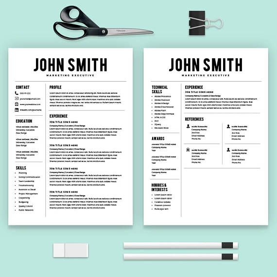 Microsoft Word Professional Resume Template Design Will Help You
