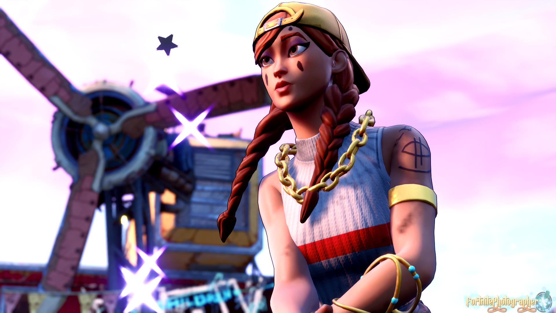 Goddess Of The Sand Aura Is So Cute Thanks For All The Support And Sharing Aura Set 6 2 4 Fnphootographer On Twitter Gamer Pics Aura Fortnite