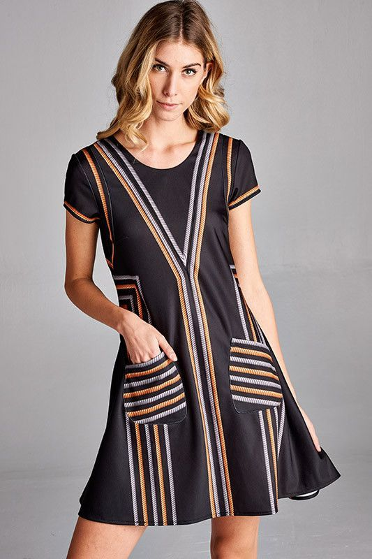 WomenS Short sleeve Dress Laurel Buy Cheap Manchester Great Sale Free Shipping With Paypal N8N6Q7