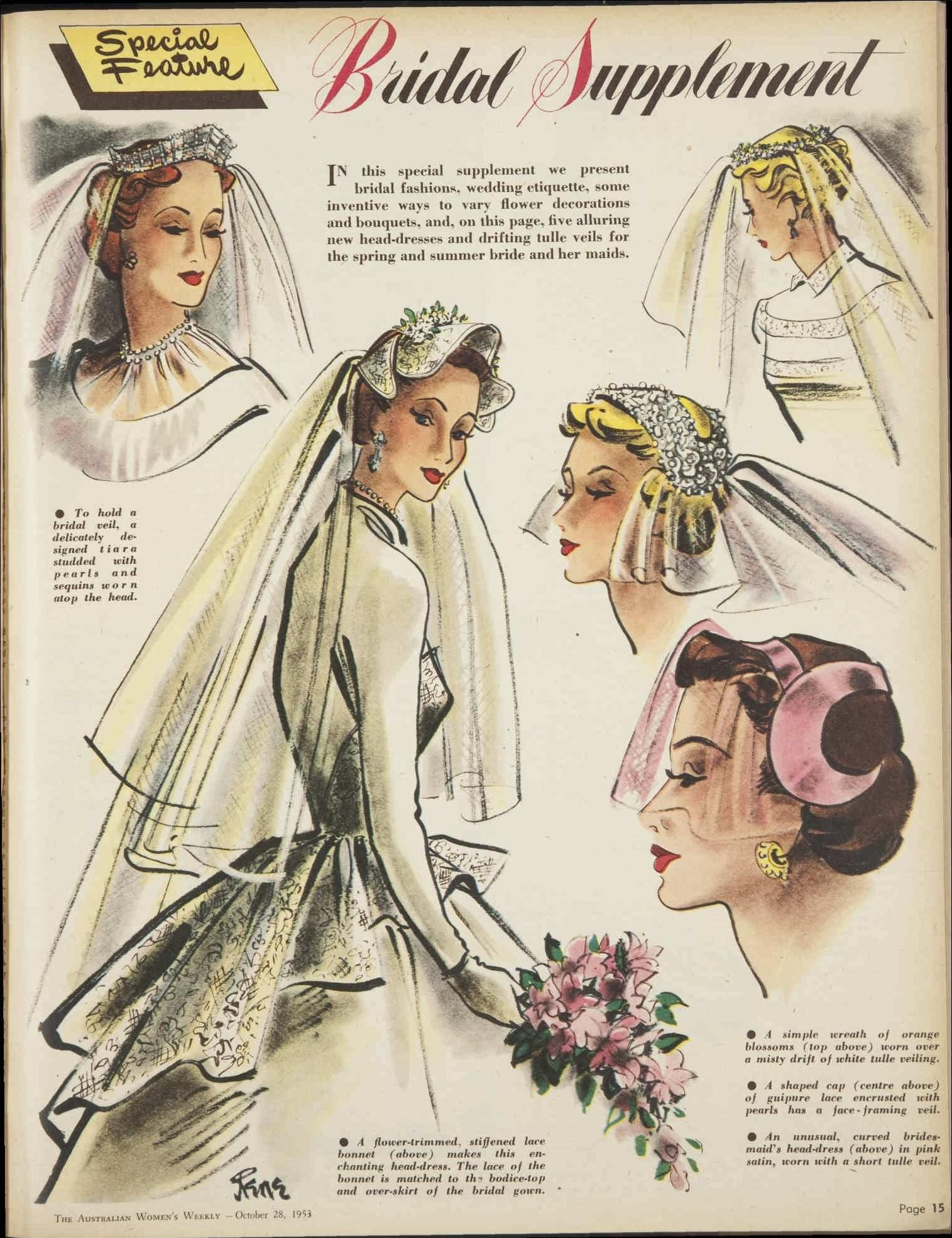 Issue: 28 Oct 1953 - The Australian Women\'s Weekly 1950\'s vintage ...