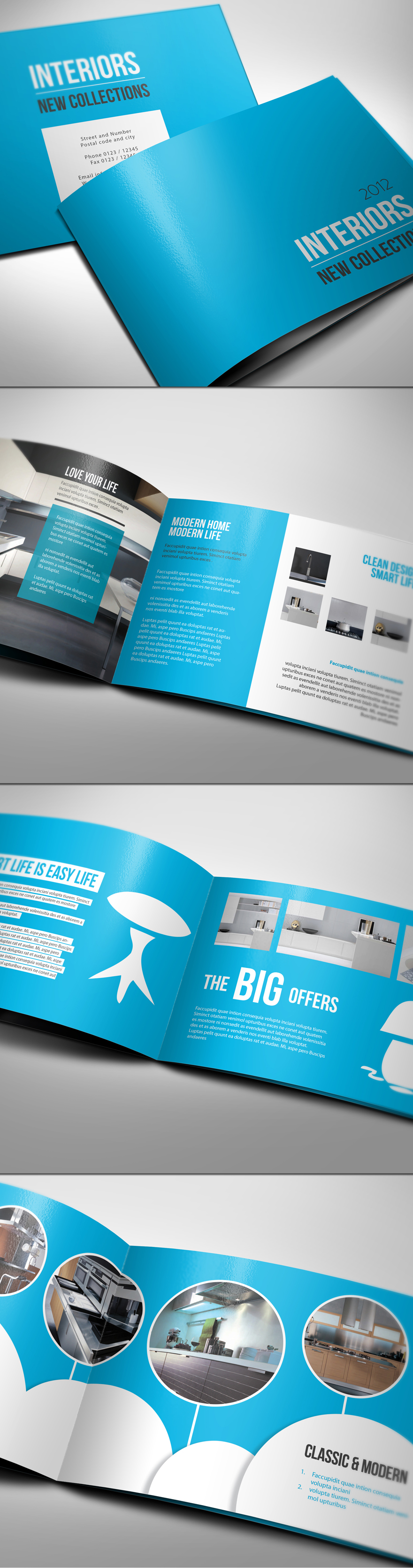 12 Folders e Flyers Super Inspirativos! | Des1gn ON - Blog de Design e Inspiração.