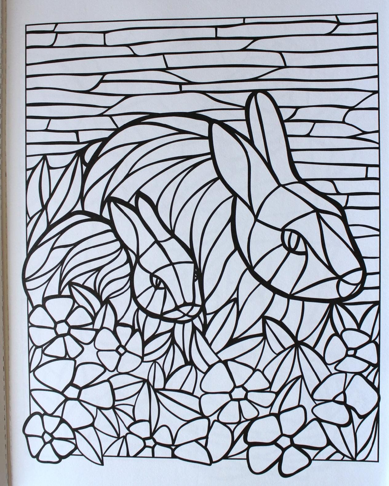 Creative Haven Animal Mosaics Coloring Book Creative Haven Coloring Books Jessica Mazurki Animal Coloring Pages Creative Haven Coloring Books Coloring Pages