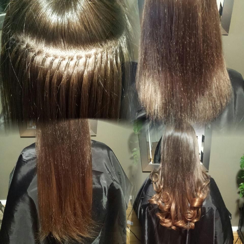 Euro Sop Hair Extensions Before After Pinterest Hair
