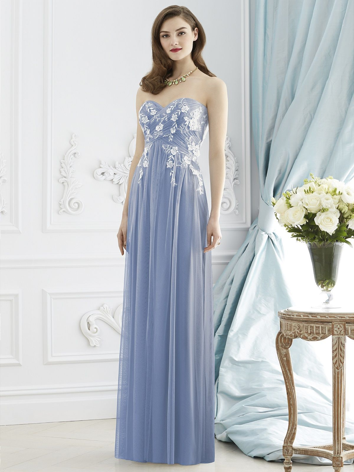 Dessy collection style 2948 periwinkle bridesmaid dresses dessy collection style 2948 bridesmaid ideasbridesmaidsbridesmaid dressespink weddingsperiwinkle bluegown ombrellifo Images