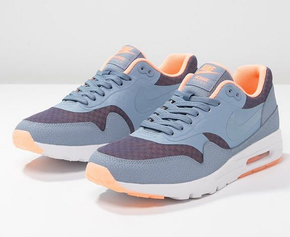 Nike Sportswear AIR MAX 1 ULTRA ESSENTIALS Baskets basses cool blueclear  bluesunset