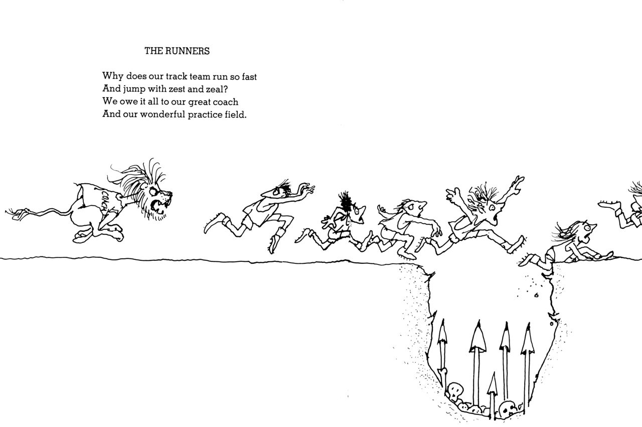 Short Shel Silverstein Quotes: Shel Silverstein-The Runners