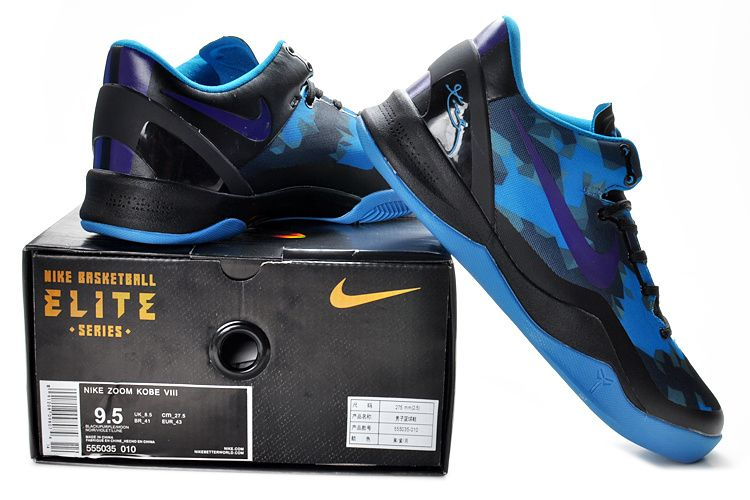 cheap for discount 44cfe 77c39 Kobe Viii Shoes 2013 Elite Royal Blue Black Club Purple 555035 010