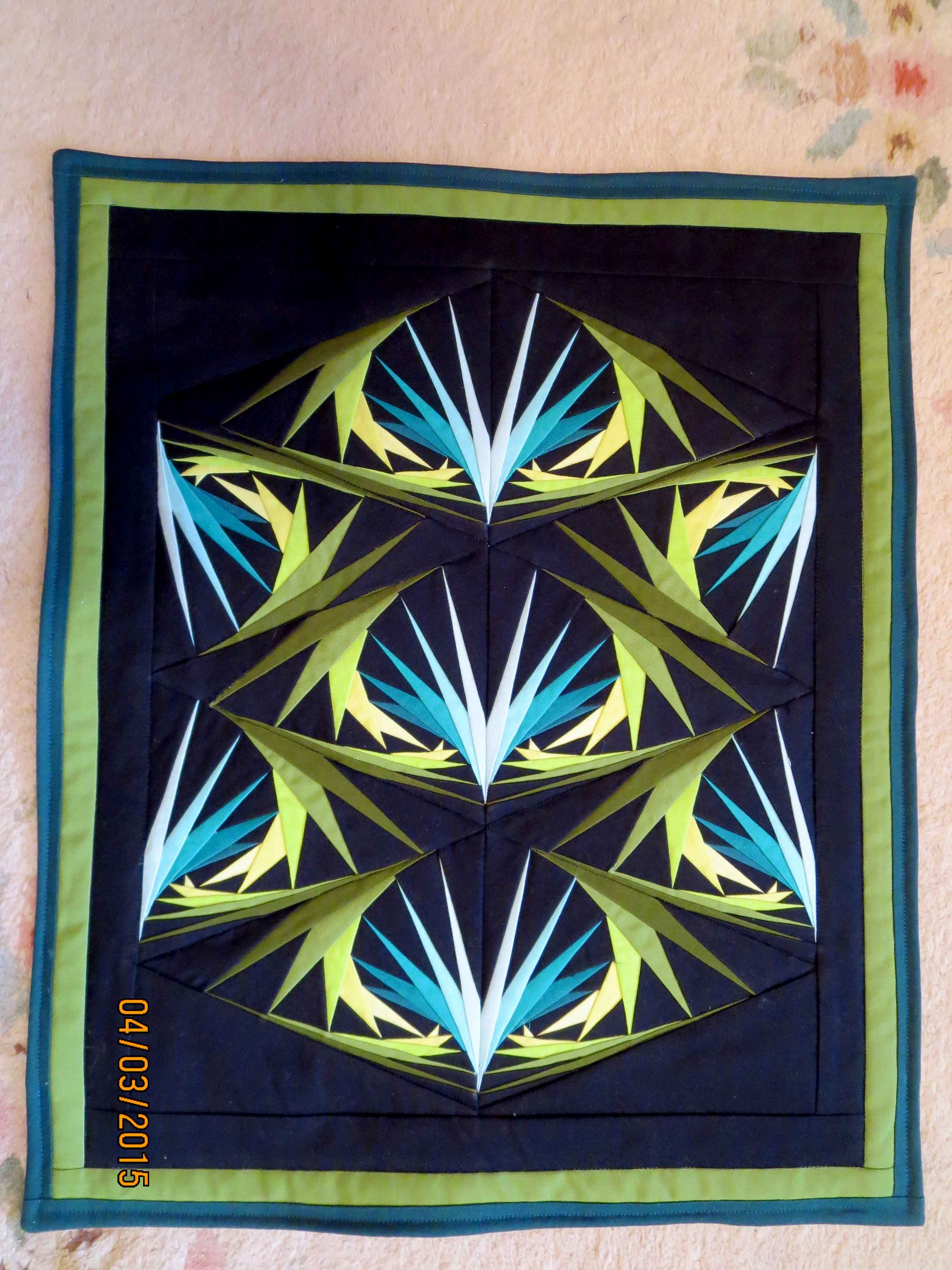 Bird Of Paradise From A Pattern By George Siciliano 15 X