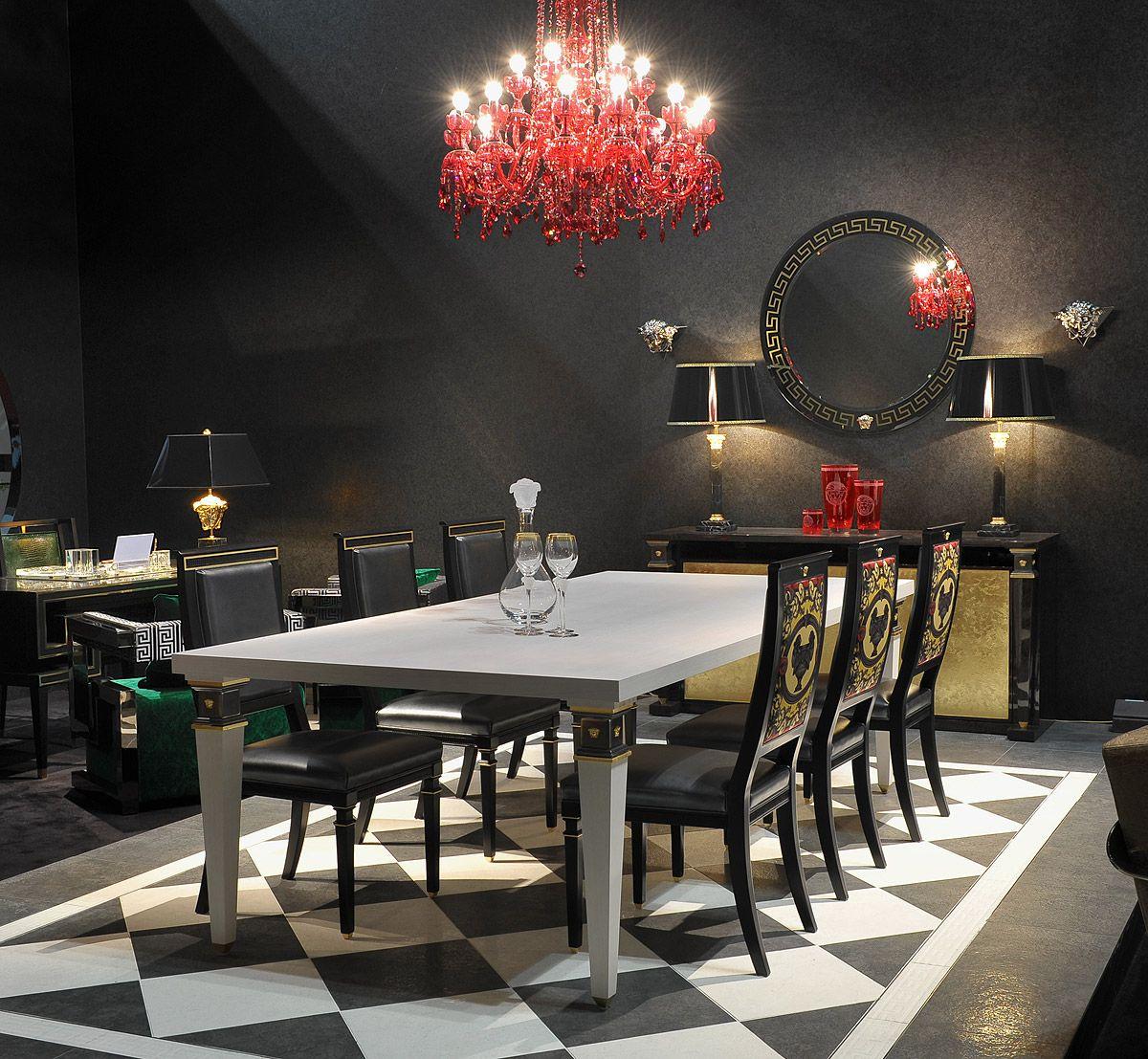 Versace Home Design Della Sala Da Pranzo Idee Per Decorare La