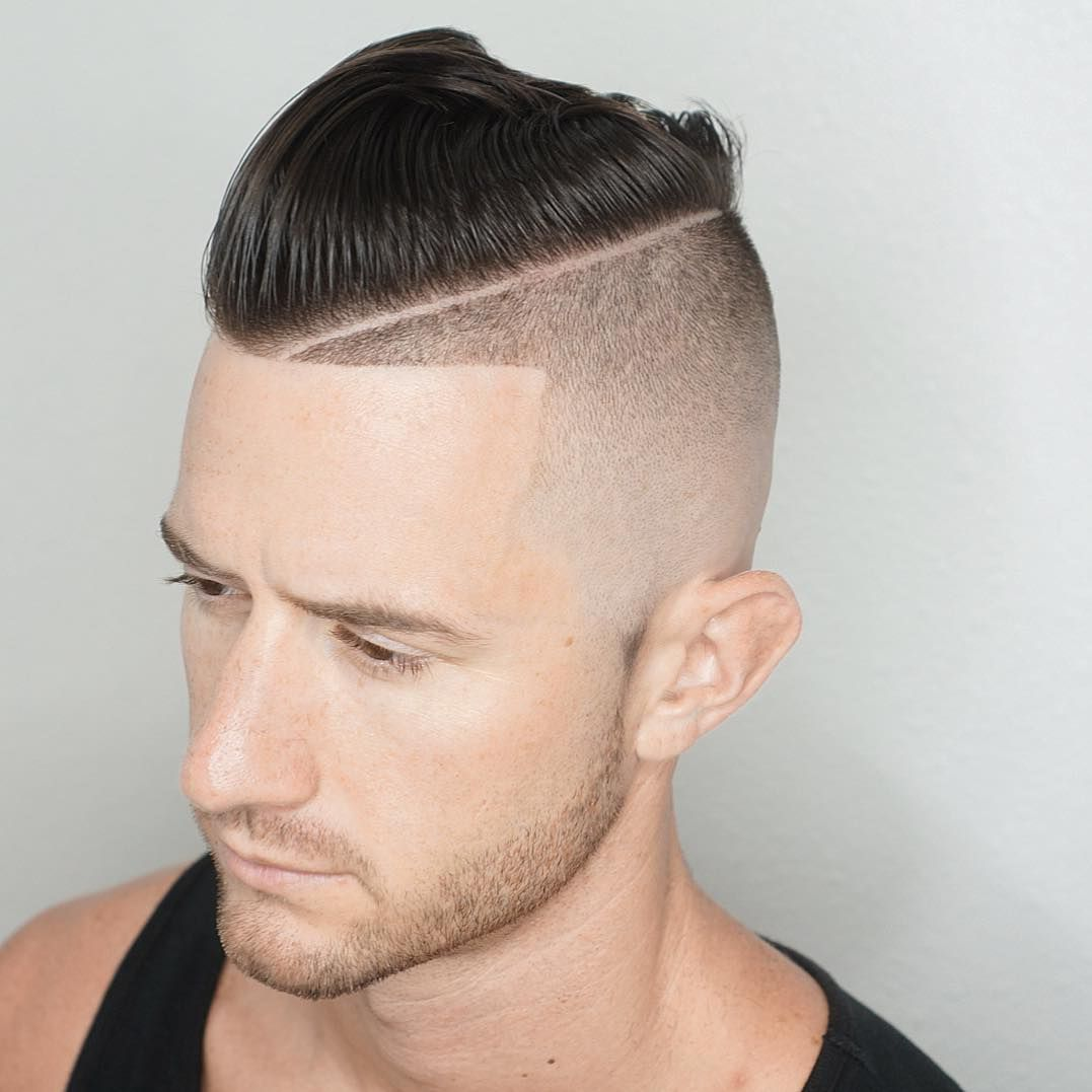 cool haircuts with shaved sides | men's hairstyles