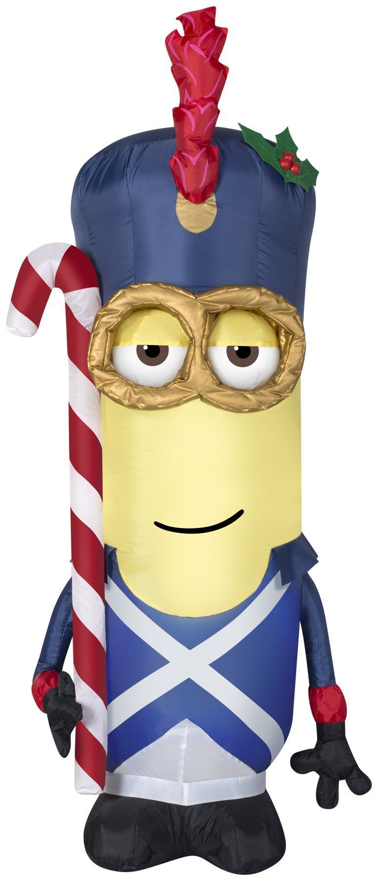 2 british soldier minion christmas inflatable - Minion Christmas Inflatable