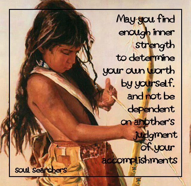 Finding Inner Strength Quotes: *May You Find Enough Inner Strength To Determine Your Own