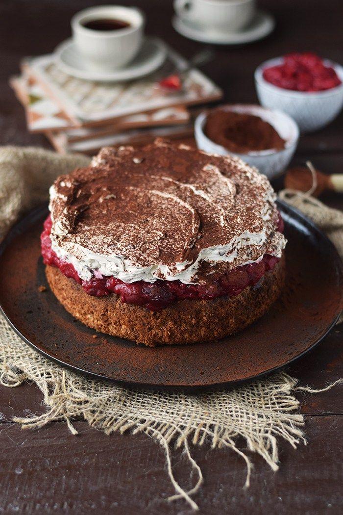 Haselnuss Kirsch Kuchen Ein Familienklassiker Rezept Backen