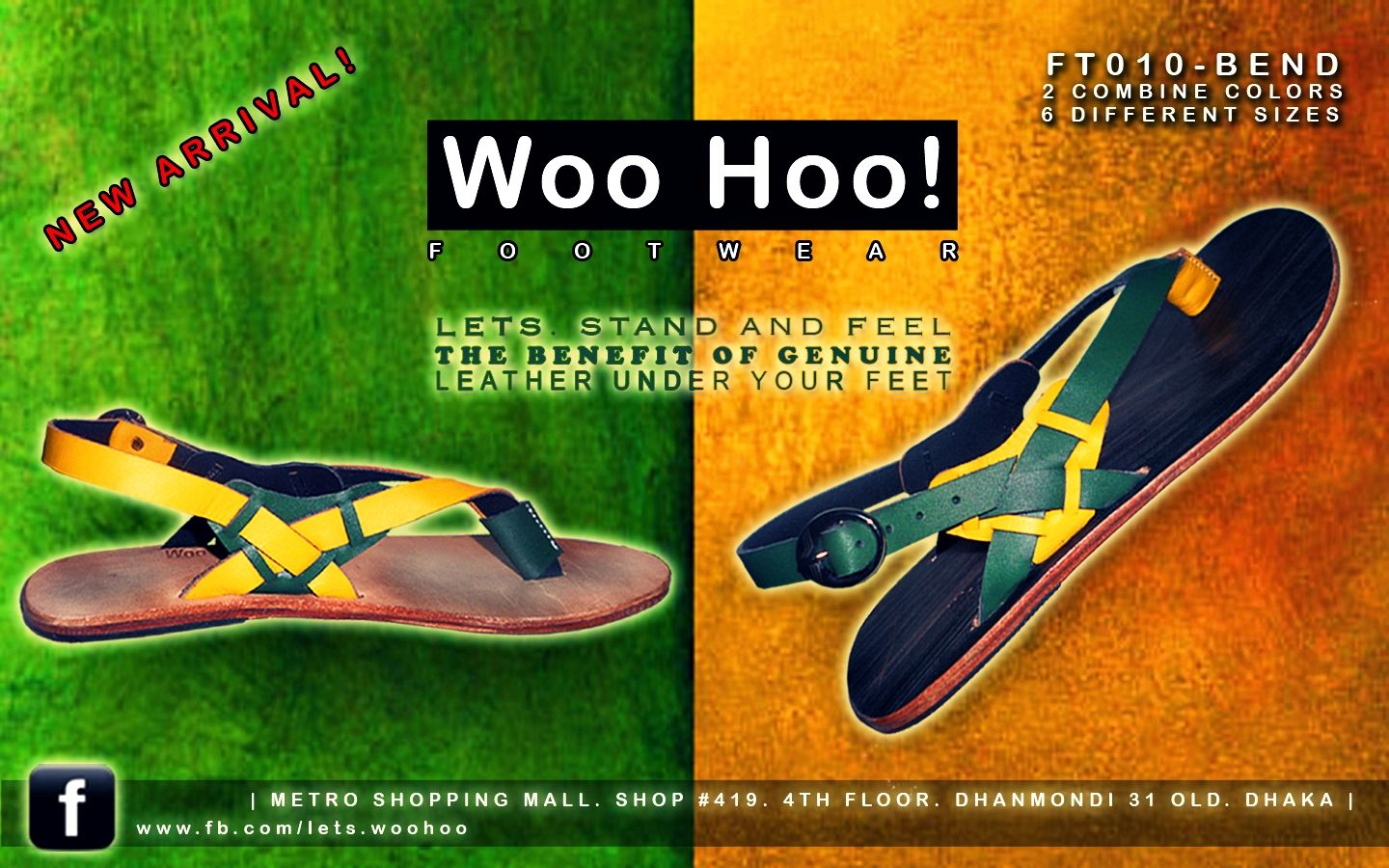 4db129dda39a NEW ARRIVAL! (Available in Store) Woo Hoo! Footwear - FT010 BEND Colors