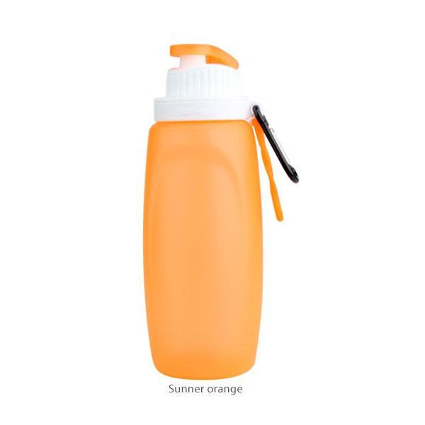 Mini Foldable Silicone Water Bottle (320 ML)