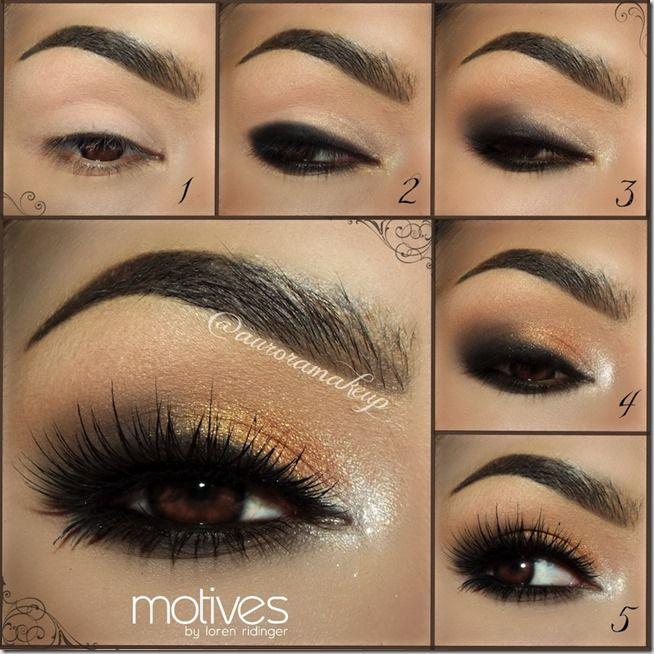 Machiaj Smokey Eyes Pas Cu Pas 2 Make Up Tutorials Smokey Eyes