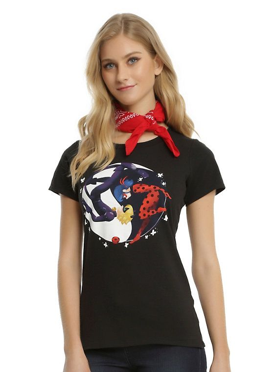 T Shirt Miraculous 4 à 10 Ans Coton Strong-Willed Miraculous T-shirt Ladybug