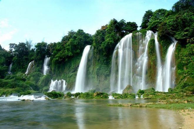 شلالات بان جياك اجمل شلالات فيتنام اجمل الشلالات اجمل الاماكن الطبيعية فيتنام منتديات ودي شبكة عصرية متكام Amazing Destinations Tourist Visit Vietnam