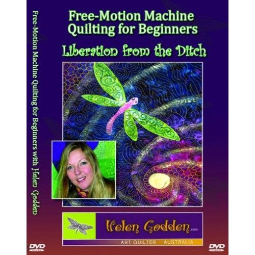 Free-Motion Machine Quilting for Beginners DVD   All for me ... : quilting dvds for beginners - Adamdwight.com