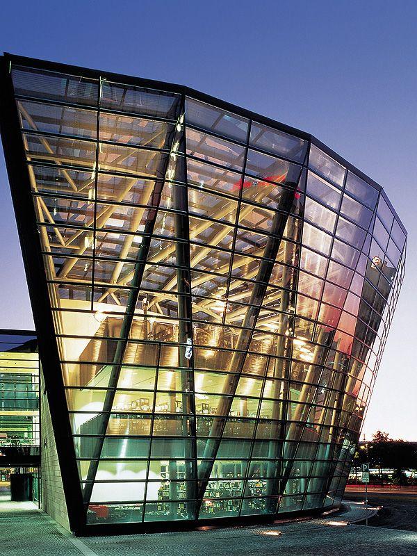 Dortmund Municipal Library -3 - #architecture - ☮k☮ - #modern