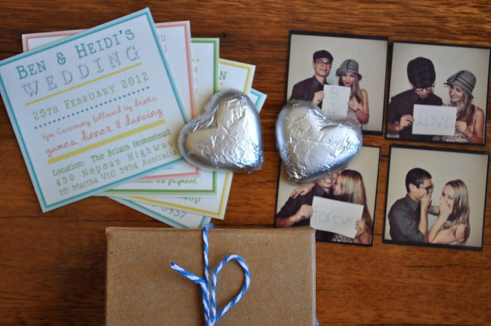 Apples Under My Bed: Our Wedding Invitations