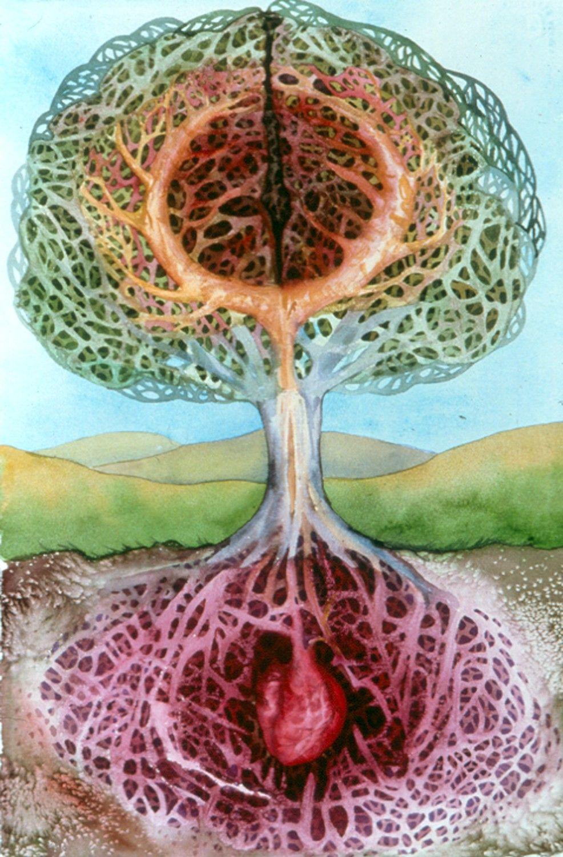 tree of life watercolor | wicca | Pinterest | Watercolor, Tree art ...