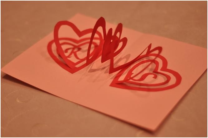 Pop Up Card Tutorials And Templates Creative Pop Up Cards Heart Pop Up Card Pop Up Card Templates Valentines Cards