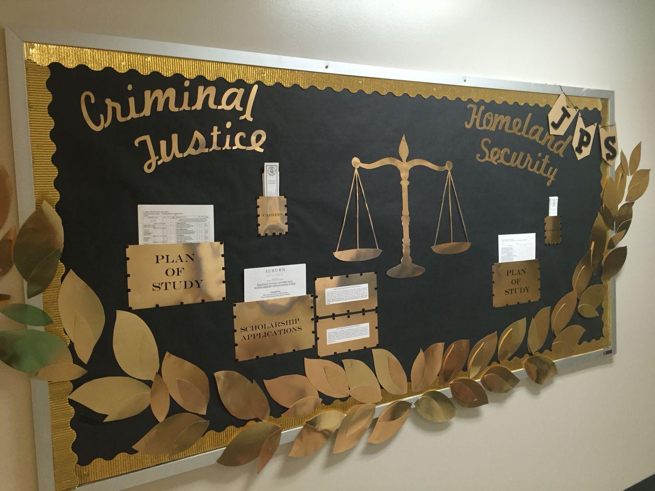 Criminal Justice Homeland Security Bulletin Board