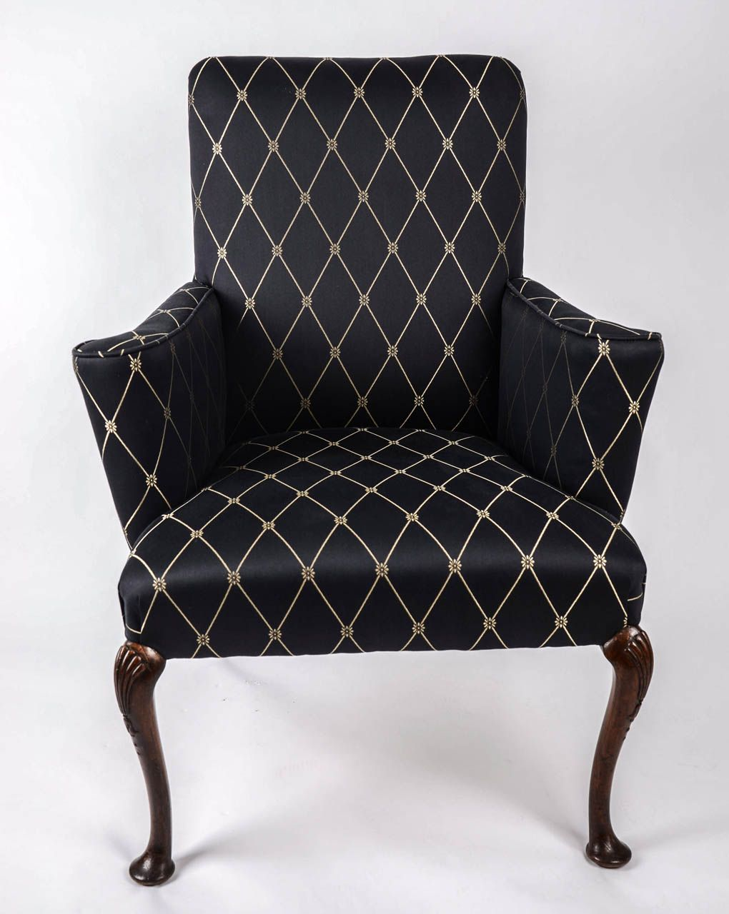 George I Walnut Armchair English Circa 1720 From A Unique
