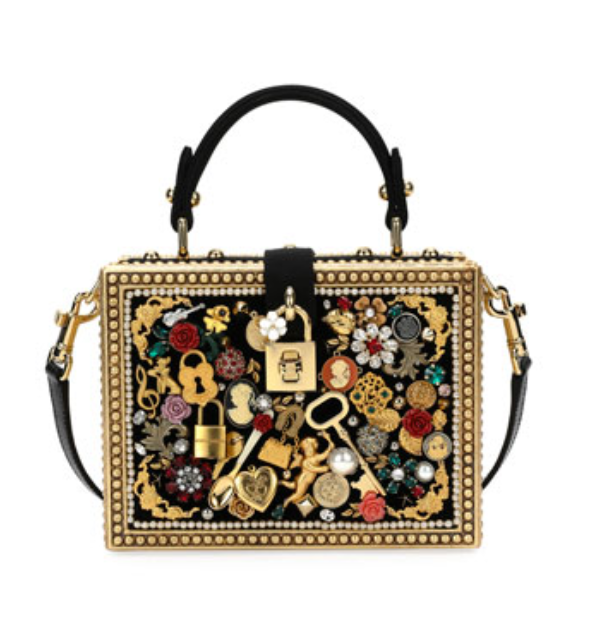 3650e5e7ecd1 Dolce   Gabbana Dolce Charmed Box Bag
