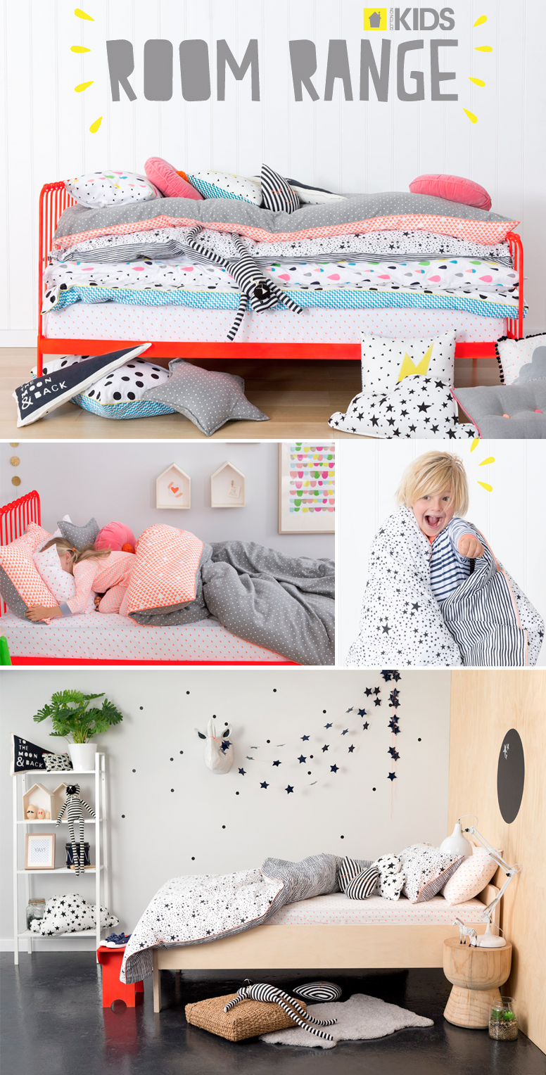 Quirky Bed Linen Part - 38: Cotton On Kids - Australia New Bedding Range Available Online From April