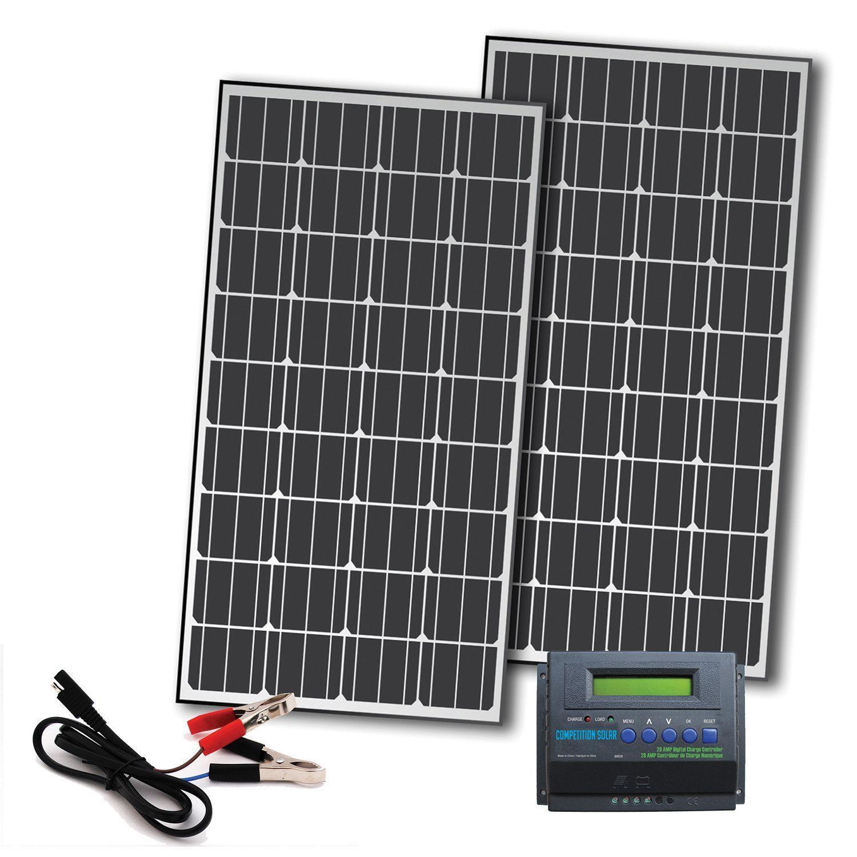 Competition Solar 330 Watt Off Grid Solar Panel Kit For 12 Volt Charging Solar Panels Off Grid Solar Panels Off Grid Solar