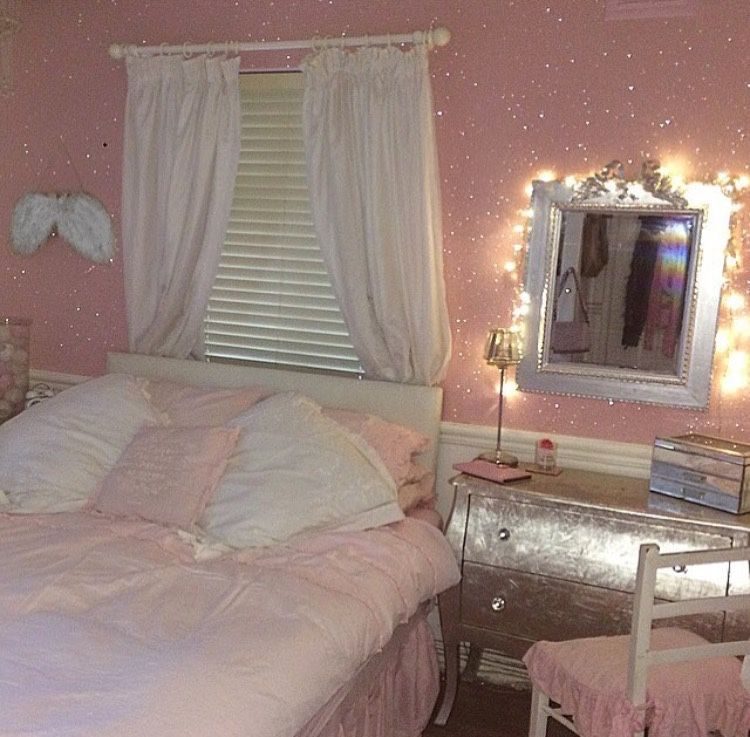 Such A Girly Room Angel Girly Pink Pinterest Ztplove