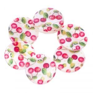 Charming cherry bracelet