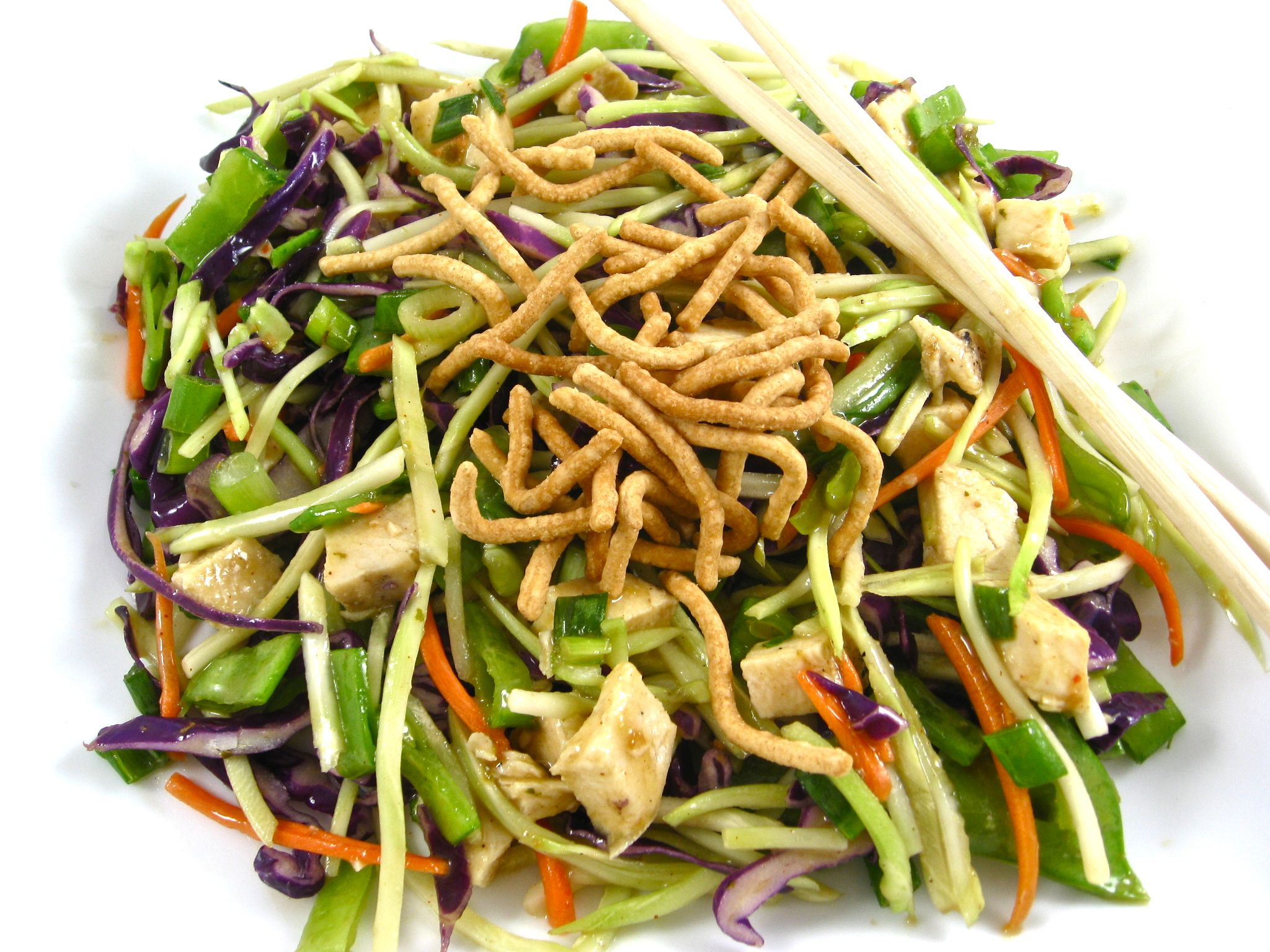 Asian chicken salad points